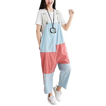 Woman Cotton Linen Overall