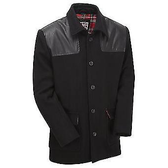 Nieuwe Mens Vintage Donkey wol jas jas overjas