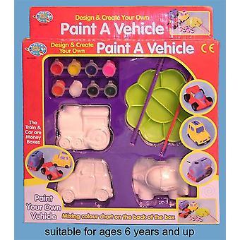 Schilderen van een voertuig