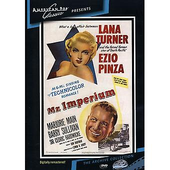 Importer des USA [DVD] M. Imperium (1951)