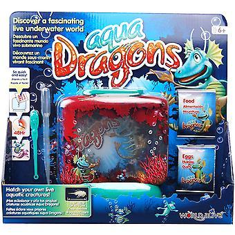 Podwodny świat wodny smoki