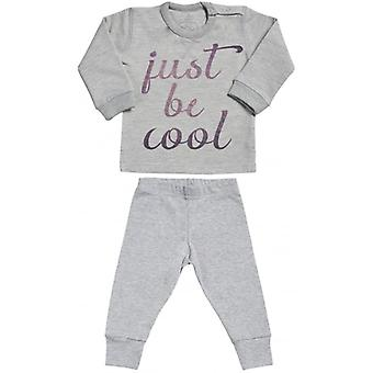 Spoilt Rotten Just Be Cool Sweatshirt & Jersey Trousers Baby Outfit Set