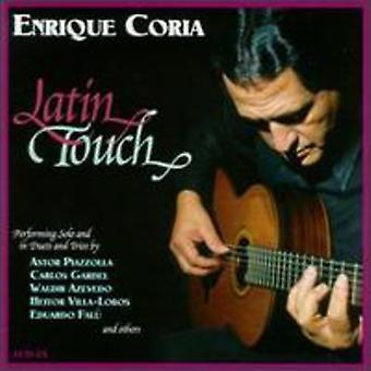Enrique Coria - import USA Łacińska dotknąć [CD]