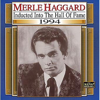 Merle Haggard - 1994-Country Music Hall van Fam [CD] USA import