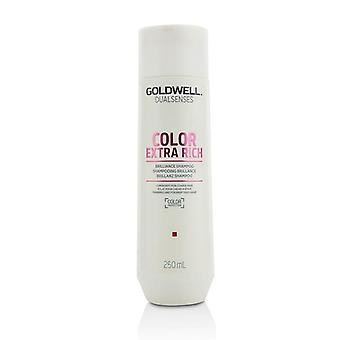 Goldwell Dual Senses Color Extra Rich Brilliance Shampoo (luminosity For Coarse Hair) - 250ml/8.4oz