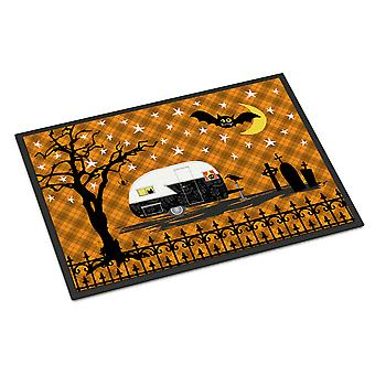 Halloween Vintage Camper Indoor or Outdoor Mat 18x27