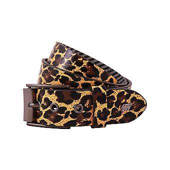 Cintura in pelle Lowlife Adder in Leopard