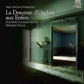 Charpentier / Ensemble Correspondances - Descente D'Orphee Aux Enfers [CD] USA import