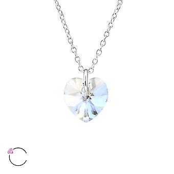 Heart crystal from Swarovski® - 925 Sterling Silver Necklaces - W30864X