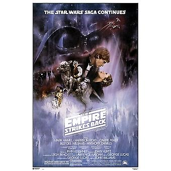 Star Wars The Empire Strikes Back Poster Poster Print