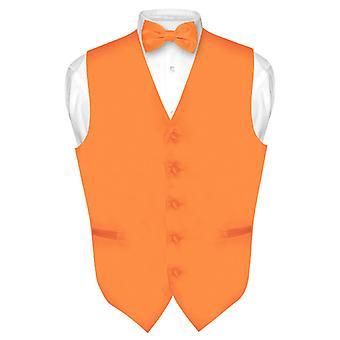 Robe Vest & BowTie solide noeud papillon de hommes fixé pour costume ou Smoking