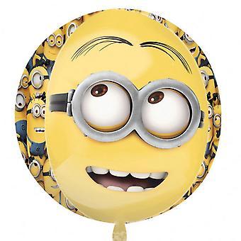 Amscan Supershape Orbz Despicable Me Minion Balloon