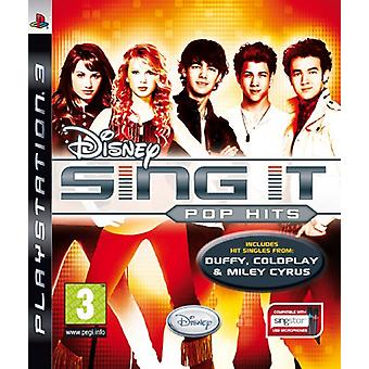 Disney Sing It Pop Hits (PS3) - Novo