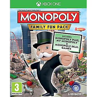 Monopoly Family Fun Pack (Xbox One) - New