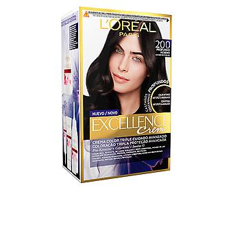 L'Oreal Make Up Excellence Brunette Tinte #200-true Darkest Brown For Women