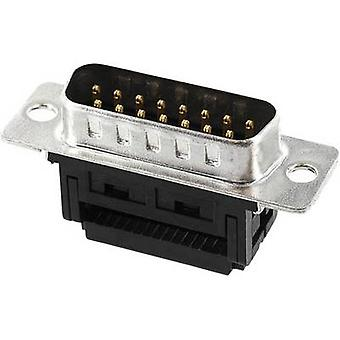 ECON koble ST9SK/FOZ D-SUB pin stripe 90 ° antall pinner: 9 klipp & klipp 1 eller flere PCer
