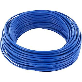 BELI-BECO D 105/10-BU Jumper wire 1 x 0.20 mm² Blue 10 m