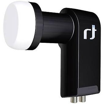 Inverto BLACK Ultra Twin LNB Nr. Mindestteilnehmerzahl pro Kurs: 2 LNB feed Größe: 40 mm