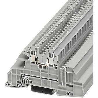 Phoenix Contact UTI 2,5-L 3076034 teollisuuden Riviliitäntä nastojen määrä: 2 0,2 mm² 4 mm² harmaa 1 PCs()
