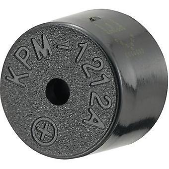 KEPO KPM-1212A-K6389 Piezo buzzer Noise emission: 85 dB Voltage: 12 V Continuous acoustic signal 1 pc(s)