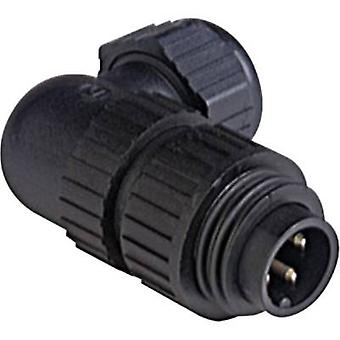 Hirschmann 934 128-100-1 CA 3 W LS CA Series Mains Voltage Connector Corrente nominal (detalhes): 16 A/AC/10 A/DC Número de pinos: 3 + PE