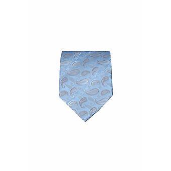Blue silk tie M19