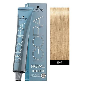 Schwarzkopf Igora Royal Highlifts 10-4 Ultra Blond Beige 60ml