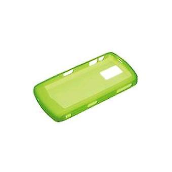 BlackBerry - BlackBerry 8100 8100c için Silikon Kapak Cilt - Neon Yeşil