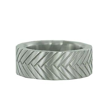 ESPRIT men's ring stainless steel THREE-D Gr. 19 ESRG11285A190