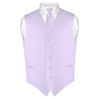 """Miesten pukeutuminen liivi & laiha kravatti yksivärinen 2,5 """"kaulan Tie asettaa puku tai smokki"""
