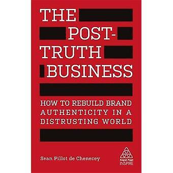 Постправды бизнес - Как восстановить подлинность бренда в Distr