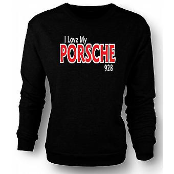 Mens Sweatshirt I Love My Porsche 928 - Car Enthusiast