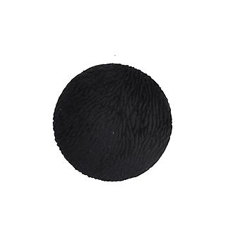 Stjernsund ripustin nuppi kuviollinen sametti musta 8 cm