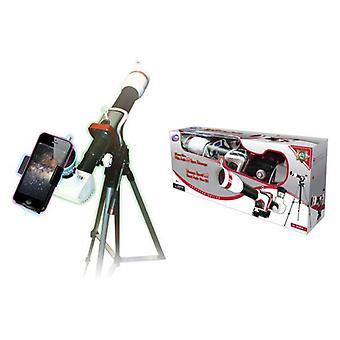 HD άθλημα αστρονομικό τηλεσκόπιο τρίποδο με προσαρμογέα smartphone