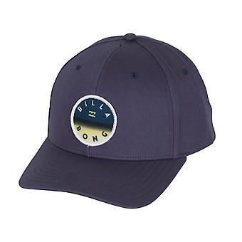 Billabong Men's Snapback Cap ~ Theme navy