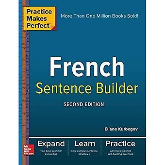 Övning ger perfekt franska mening Builder, andra upplagan