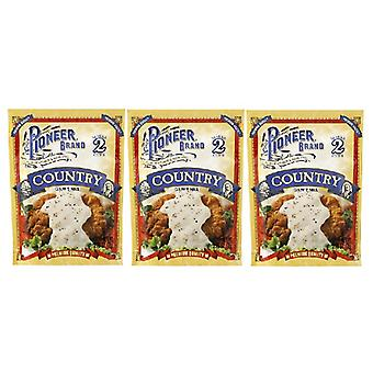 Pioneer Brand Country Gravy Mix 3 Packet Pack