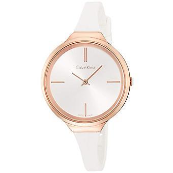 Calvin Klein Herre Analog quartz damer silikone armbåndsur K4U236K6
