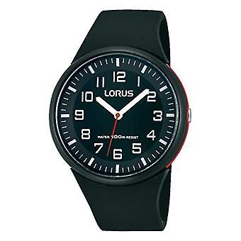 Montres Lorus RRX47DX9-mens watch avec bracelet en caoutchouc, coloris: noir
