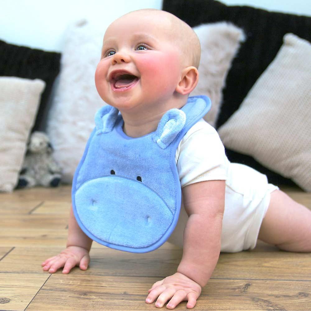 Happy Hippo baby towel gift set