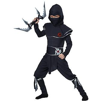 Ninja Warrior Black Stealth Japanese Assassin Book Week Boys Costume