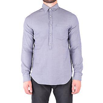 Jacob Cohen Ezbc054116 Männer's blaue Baumwolle Shirt