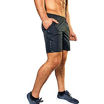 Outdoor Look Mens Lightweight Training Mid Length Shorts