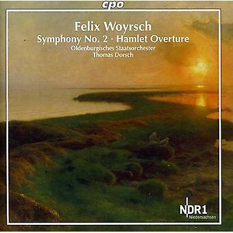 F. Woyrschcompositeur - Felix Woyrsch: Symphonie n° 2; Importer des hameau Overture [CD] é.-u.