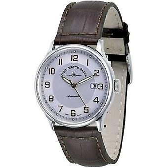Zeno-watch mens watch flatline automatic retro 6209-f2