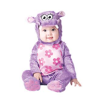 Kids Baby Huggable Hippo Animal Fancy Dress Costume
