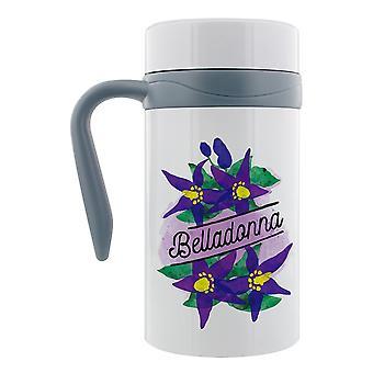 Mug de voyage thermal Detox mortel Belladonna avec poignée