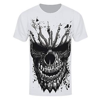 Grindstore miesten veistetty Skull Sub T-paita