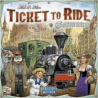Days of Wonder Ticket to Ride Germany Board Game