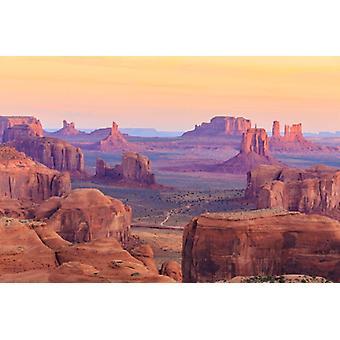 Wallpaper Mural Hunts Mesa Sunrise